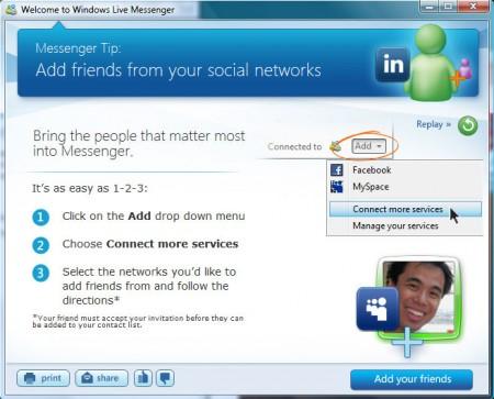 A more social Live