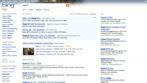 Bing Film Times