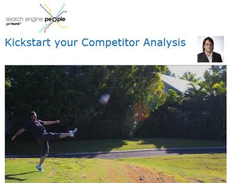 Kickstart your Competitor Analysis