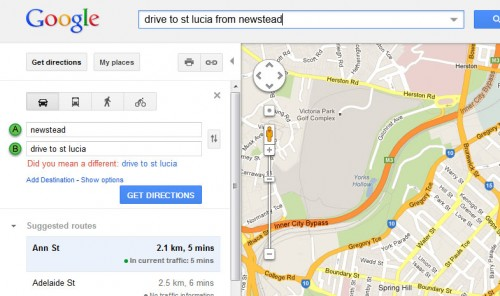 Not so vague in Google Maps