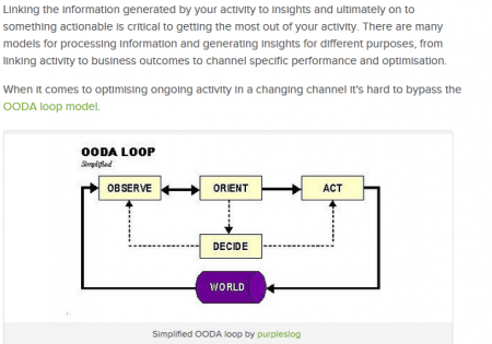 Using The OODA Loop For Data Driven Marketing on Search Engine People